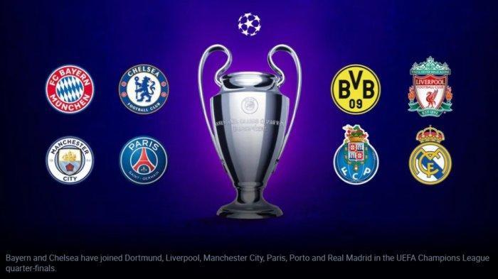 Link Live Streaming Drawing 8 Besar Liga Champions, Awas Pertemuan Sesama Klub Inggris Atau Jerman
