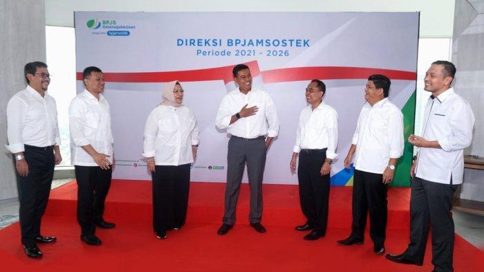 Dilantik Jokowi, Jajaran Direksi BPJamsostek Periode 2021-2026 Bakal Ciptakan Digitalisasi Jamsos