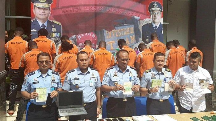 Satu Minggu Sebelum Gelar Operasi, Imigrasi Jakarta Barat Intai Aktivitas 13 WNA Asal Afrika