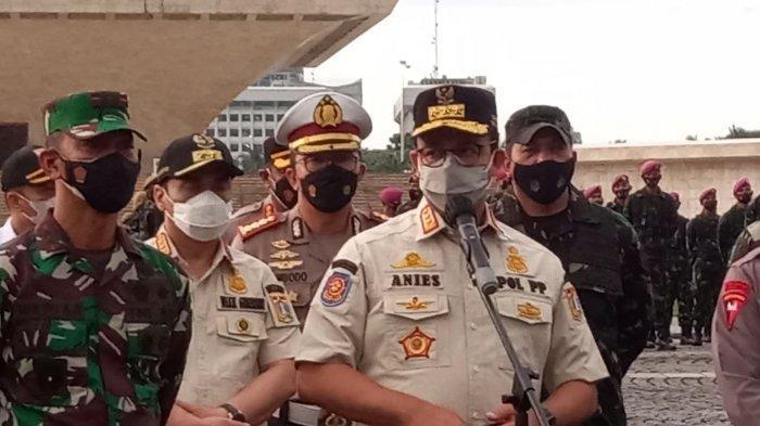 Gelar Apel Pasukan Penanganan Covid-19 di Lapangan Monas Ini Seruan Gubernur DKI untuk Warga Jakarta