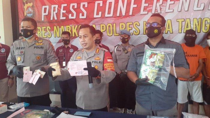 VIDEO Polresta Tangerang Ungkap Peredaran Sabu dalam Kemasan Teh