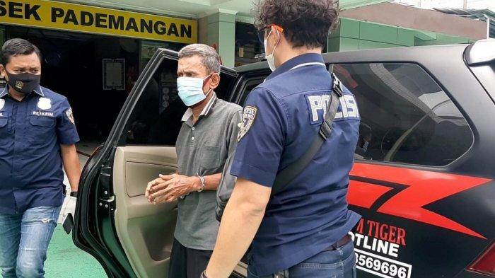 Polisi Berhasil Tangkap Abdi Irwan, Lansia Spesialis Copet Penumpang Mikrolet di Pademangan