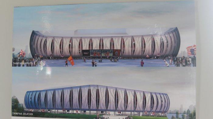 Berita Foto: Begini Penampakan Desain Stadion Jakarta Internasional untuk Markas Persija
