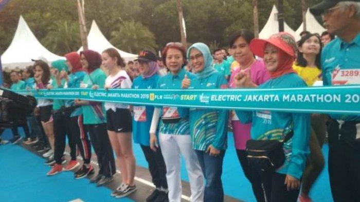 Electric Jakarta Marathon 2019, Ajak Pelari Dunia Menikmati Jakarta, Ini Daftar Lengkap Pemenangnya