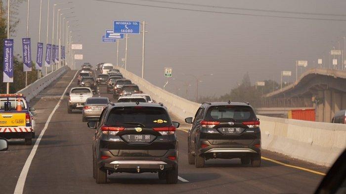 Sejumlah 268000 Kendaraan Meniinggalkan Jakarta Via GT Cikampek Utama Selama Arus Mudik Natal 2019