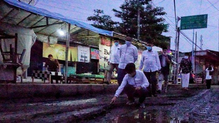 Sehari Dilantik, Bupati Kebumen Langsung Tinjau Jalan Rusak Petanahan