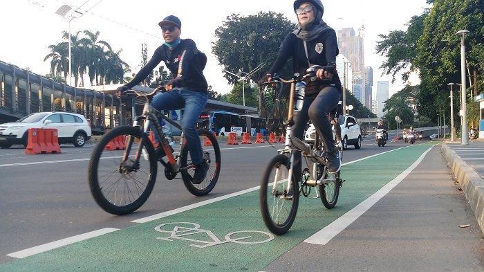 Dari 63 Kilometer Jalur Sepeda, DKI Jakarta hanya Optimalkan 14 Kilometer di Jalan Sudirman-Thamrin