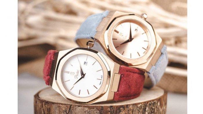 Jam tangan Parlent. Berdiri pada 2017 dan berpusat di Jakarta, Parlént World menjadi brand Indonesia yang sukses merambah pasar jam tangan mancanegara.