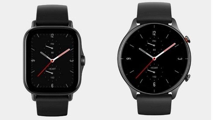 Jam tangan pintar Amazfit GTS 2e (kiri) dan Amazfit GTR 2e (kanan) resmi masuk Indonesia.