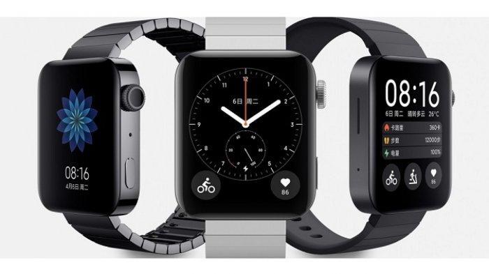 Resmi Dijual, Jam Tangan Pintar Xiaomi Mi Watch Tahan Air Baterai 16 Hari, Ini Keunggulan dan Harga