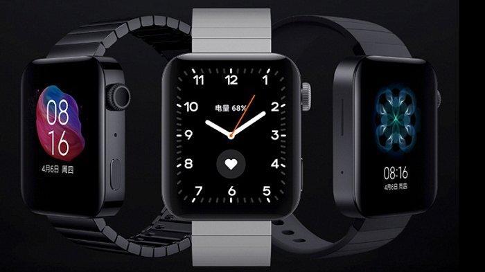Desain Mirip Apple Watch, Jam Tangan Pintar Xiaomi Mi Watch Meluncur dengan Harga Lebih Murah