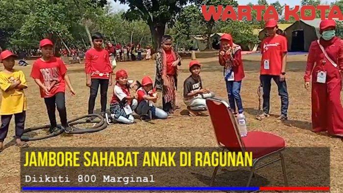 VIDEO: Jambore Sahabat Anak di Ragunan Diikuti 800 Marginal