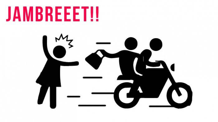 Jambret Tas Wanita di Tambora Terekam CCTV, Polisi Cari Korban