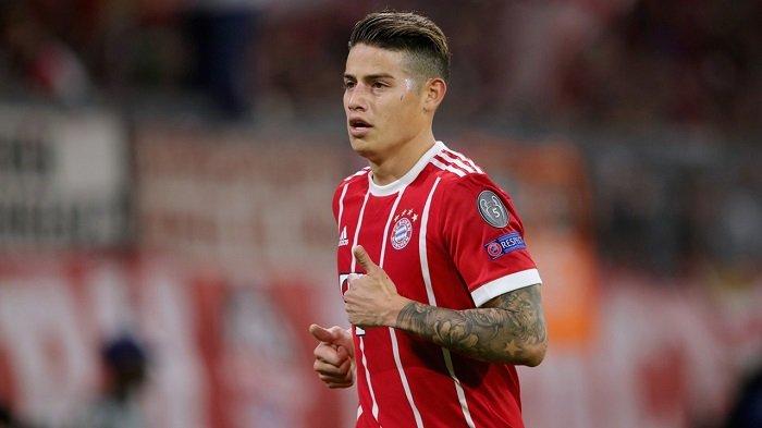 Bayern Muenchen Tidak Terburu-buru Putuskan Masa Depan James Rodriguez