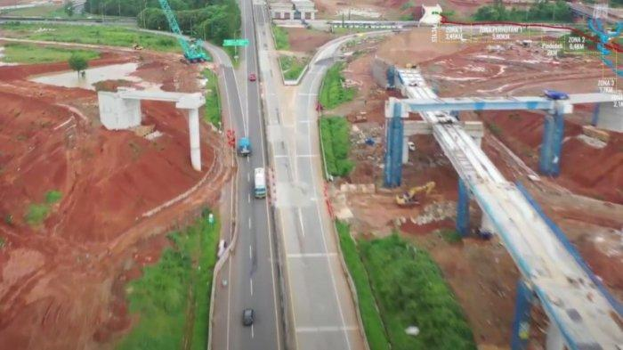 Pasang Gelagar Jembatan Tol Jakarta – Cikampek II Selatan, Jasa Marga Lakukan Pengalihan Rute
