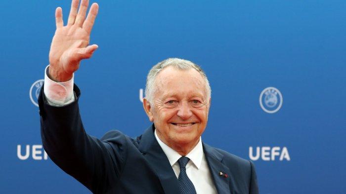 Presiden Lyon Jean-Michel Aulas Kesal Kompetisi Ligue 1 Prancis Musim Ini Tidak Dilanjutkan Lagi