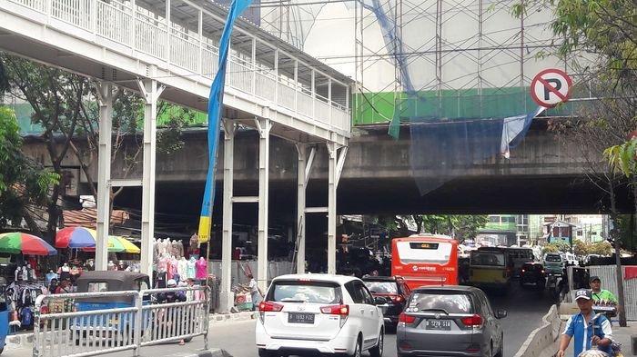 Besok Jembatan Penyeberangan Multi Guna Tanah Abang Rampung, Pedagang Belum Akan Ditempatkan