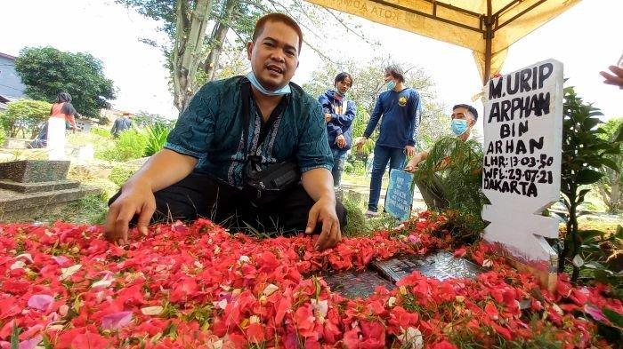 Almarhum Urip Arphan Ingin Kembali Berkarya dan Bekerja di Dunia Seni Peran Jika Sembuh dari Stroke