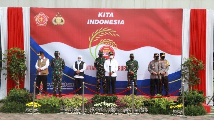 TNI-Polri Distribusikan 2.500 Ton Beras dan 70.000 Paket Sembako ke Seluruh Indonesia