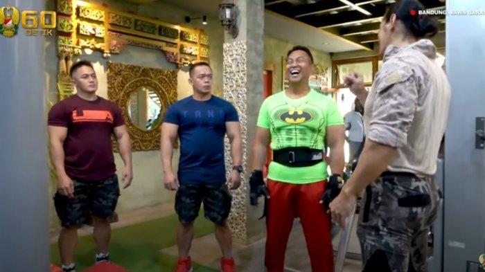 Cerita 2 Pendamping Fitnes Jendral Andika Perkasa, Hebatnya Beliau Waktu Sempit Konsisten Latihan