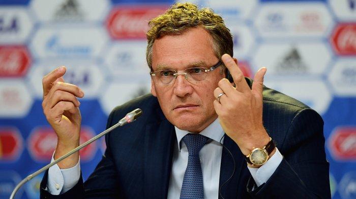 Mantan Sekjen FIFA, Jerome Valcke di hukum karena kasus korupsi hak siar Piala Dunia