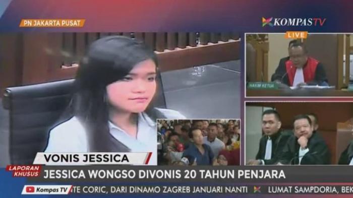 Jessica Tak Menyesal Atas Kematian Mirna Salihin