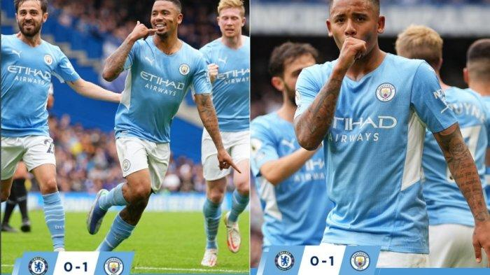 Kalahkan Chelsea 1-0, Manchester City Naik 2 Besar, Manchester United Dipermalukan Aston Villa 0-1