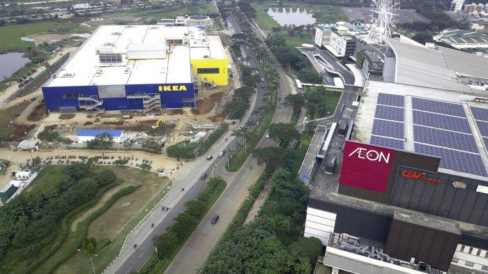 Kawasan Jakarta Garden City.