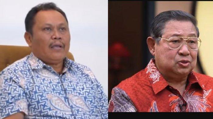 Politikus senior Jhoni Allen Marbun dan SBY