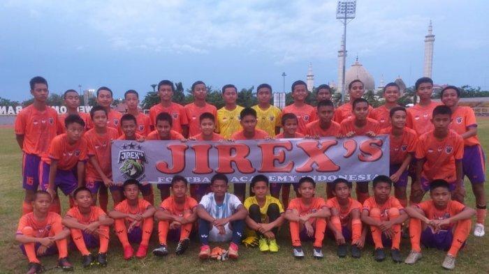 Jirex's Football Academy Indonesia, Ajang Kementerian Perdagangan Bina Talenta Muda Sepak Bola