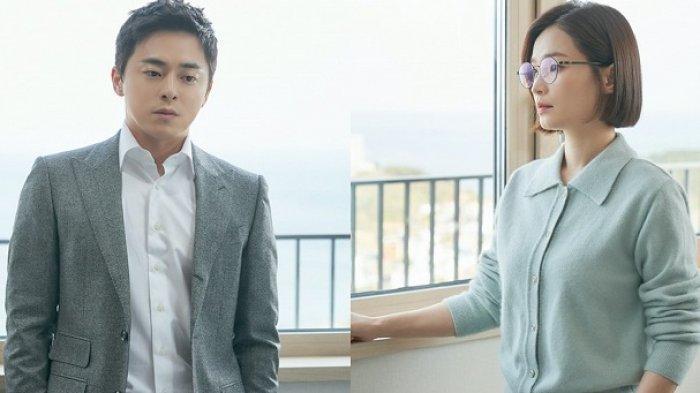 Dua pemeran utama drama Korea Hospital Playlist 2, Jo Jung Suk dan Jeon Mi Do.
