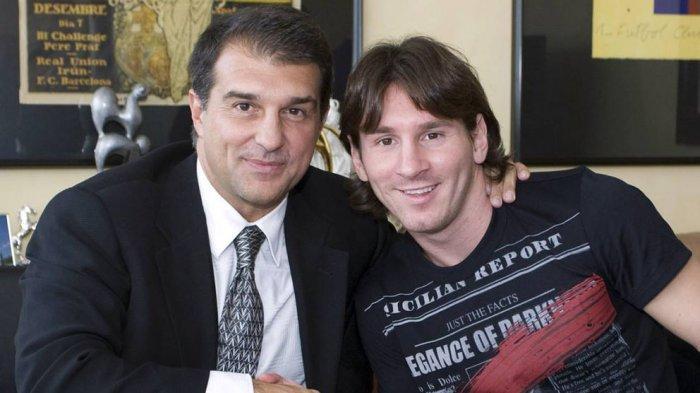 Joan Laporta merasa dekat dan tahu banyak tentang Lionel Messi di FC Barcelona