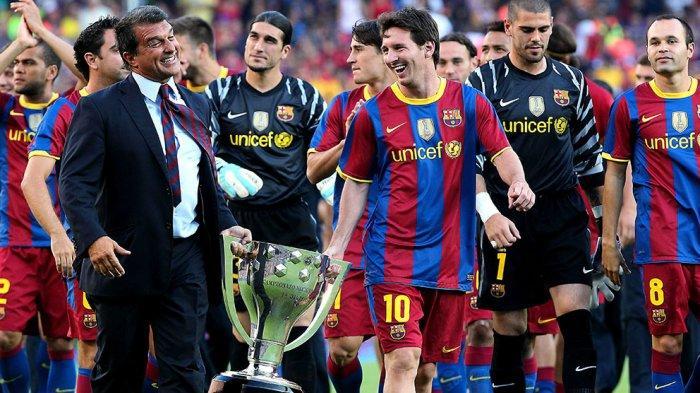 Messi Resmi Jadi Pemain Bebas, Presiden Barcelona Joan Laporta Tak Terlalu Khawatir, Ini Alasannya?