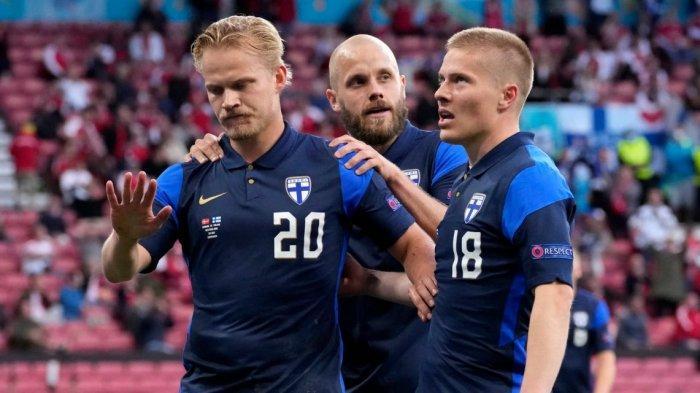 Eriksen Roboh, Denmark Tumbang Oleh Satu-satunya Peluang Finlandia, Tak Ada Selebrasi Gol