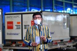 Johnny G Plate Pastikan Komitmen Indonesia terhadap Program Vaksinasi Covid-19