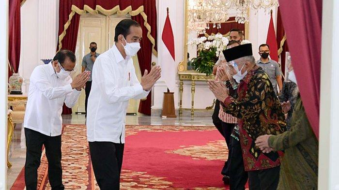 Amien Rais Curiga Presiden Mau Jabat 3 Periode, Ngabalin: Kenapa Pas Ketemu Jokowi Tidak Ngomong?
