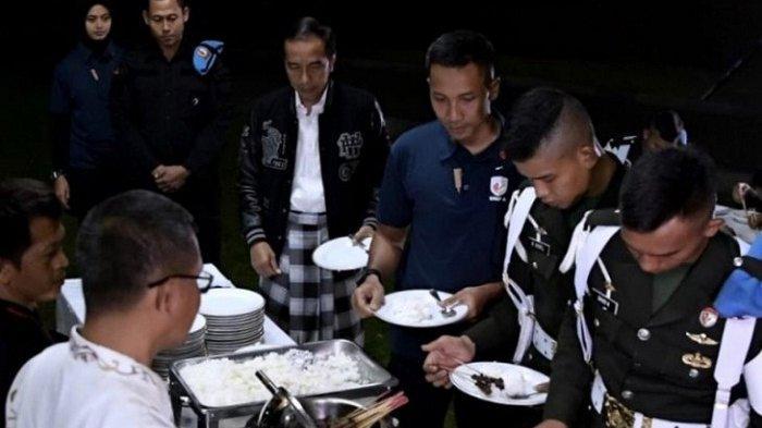 Malam Pergantian Tahun di Istana Bogor Presiden Jokowi Undang Pedagang Angkringan
