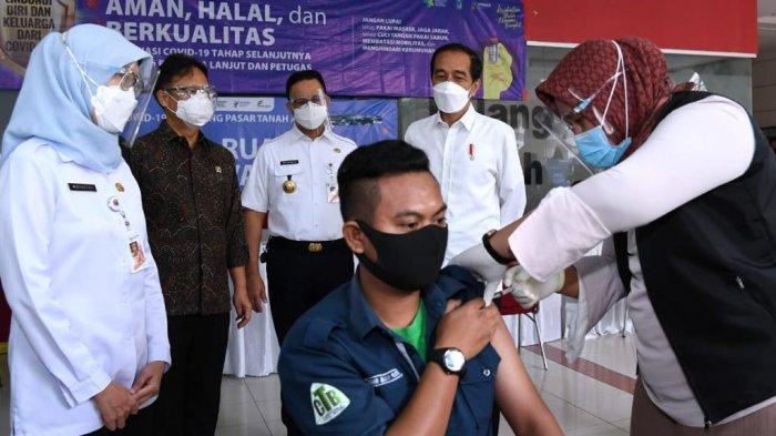 Update Vaksinasi Covid-19, Distribusi Vaksin Puskesmas Kecamatan Penjaringan Dilakukan Bertahap