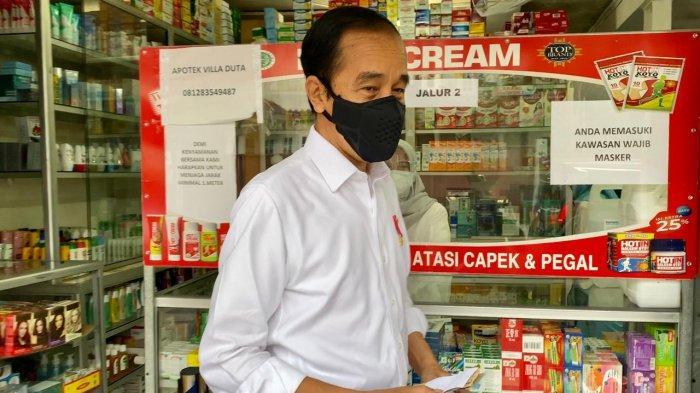 VIDEO : Mencari Obat Covid-19 di Apotik, Presiden Jokowi Cuma Mendapat Vitamin