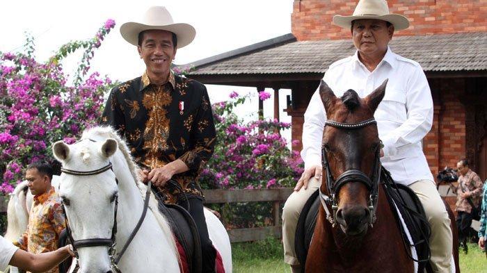 Jokowi Bilang Rekonsiliasi Bisa Dilakukan di Mana Saja, Termasuk Sambil Naik Kuda Atau MRT