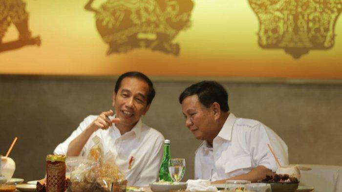 Prabowo Ucapkan Selamat Pada Jokowi: Selamat Bekerja Pak, Selamat Tambah Rambut Putih