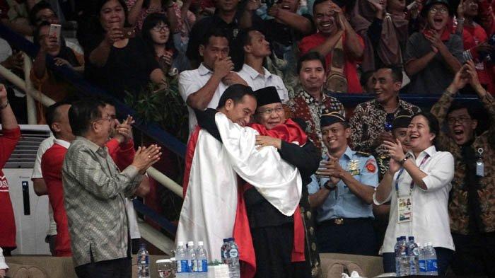 Jokowi-Prabowo Berpelukan, Ini Dialog yang Diimajinasikan Warganet