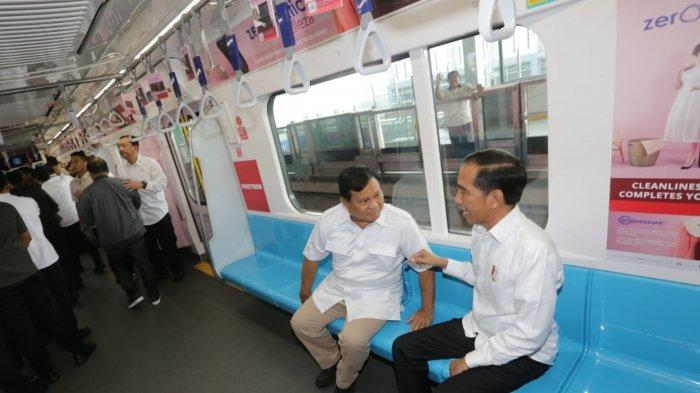Pertama Kali Naik MRT Jakarta, Prabowo Subianto: Rasanya Kayak di Luar Negeri