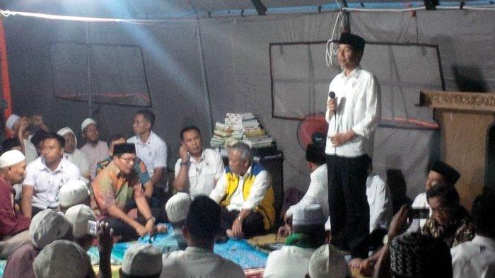 Minta Korban Gempa Bijak Gunakan Bantuan, Jokowi: Nanti Rumahnya Enggak Jadi, Malah Punya Motor Baru
