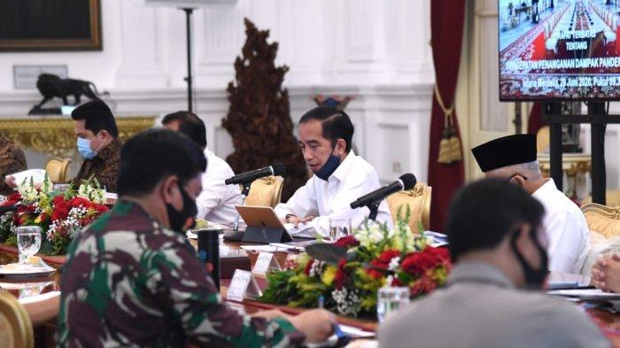 Jokowi Ingatkan Ancaman Covid-19 Masih Tinggi, Jangan Sampai Muncul Gelombang Kedua