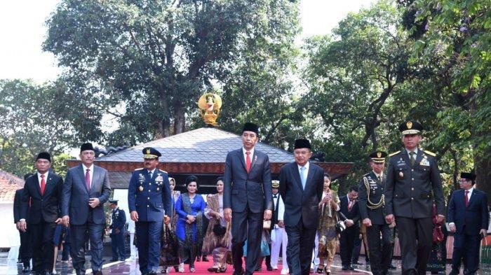 FOTO : Presiden Joko Widodo Pimpin Upacara Hari Kesaktian Pancasila