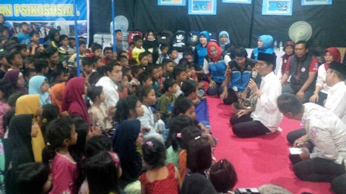 Didoakan Terpilih Jadi Presiden Lagi, Jokowi Tegur Warga Lombok