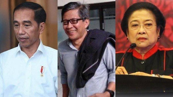 Jokowi Ingin Lepas dari Megawati, Berikut Tanda-tandanya Diungkap Pengamat Politik Rocky Gerung