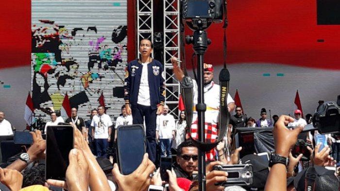 Jokowi: 4,5 Tahun Difitnah dan Dihujat Saya Diam, tapi Hari Ini Saya akan Lawan!