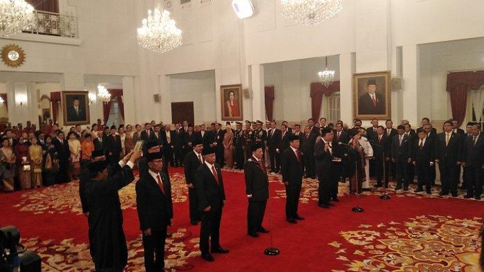 INI Nama Sembilan Anggota Wantimpres yang Dilantik Jokowi, Wiranto Jadi Ketua